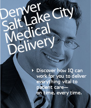 Denver/Salt Lake City Medical Delivery