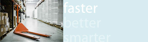 Faster fulfillment services, warehousing and distribution